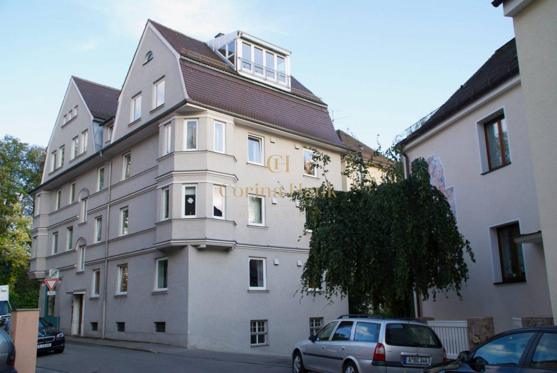 Vermietet   Augsburg   Traumhafte 4 ZKB mit Balkon im wunderschönen Thelottviertel